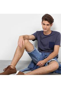 Camiseta Drezzup Listrada Básica Masculina - Masculino