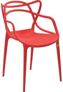 Cadeira Pp Allegra -Rivatti - Vermelho