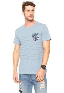 Camiseta Billabong Pool Side Azul