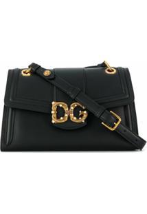 Dolce & Gabbana Bolsa Tiracolo Dg Amore - Preto