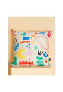 Amaro Feminino Design Up Living Capa De Almofada Infantil 42X42, Cores E Formas