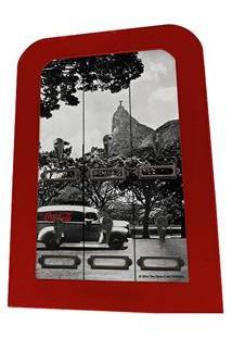 Porta-Chave Urban Coca-Cola 6 Hooks Landscape Rj - Preto/Branco