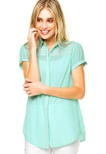 Camisa Mooncity Hotfixx Verde