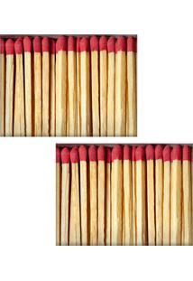 Jogo Americano Colours Creative Photo Decor - Caixa De Fósforos - 2 Peças