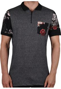 Camiseta Polo Mcd Fish Flower - Masculino