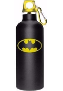 Garrafa Térmica Preta Logo Do Batman Geek10 - Preto