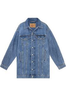 Ganni Vestido Jeans Oversized X Levi'S - Azul
