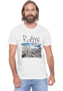 Camiseta Colcci Relax Branca