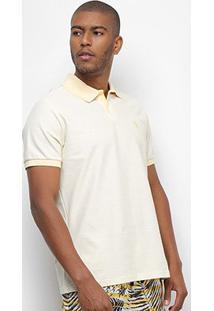 Camisa Polo Aleatory Basic Color Masculina - Masculino-Amarelo