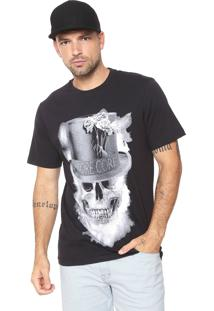 Camiseta Mcd Metal Preta