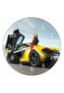 Relógio De Parede Mclaren Carros Decorações Salas Quartos