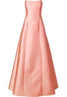 Alberta Ferretti Bustier Gown - Rosa