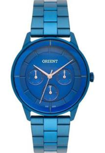 Relógio Feminino Orient Analógico Fassm001/D1Dx - Unissex-Azul