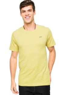 Camiseta Sommer Logo Amarela