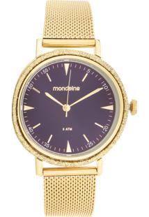 Relógio Mondaine 89001Lpmvde1 Dourado