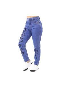 Calça Jeans Boyfriend Feminina Sal E Pimenta