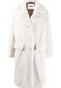 Essentiel Antwerp Casaco Com Pelos - Branco