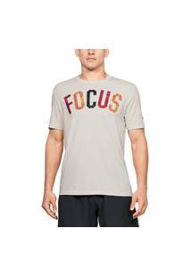 Camiseta Olympikus Camiseta Olympikus Gola V Feminina Cinza