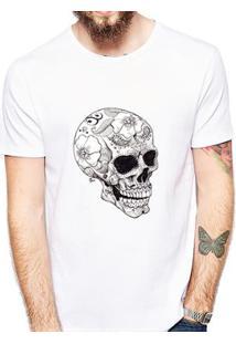 Camiseta Coolest Crânio Masculina - Masculino