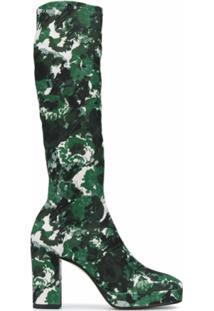 Kenzo Bota Cano Longo Aquarelle - Verde