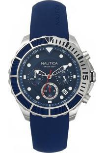 695f5495099 ... Relógio Nautica Masculino Borracha Azul - Napptr001 Vivara