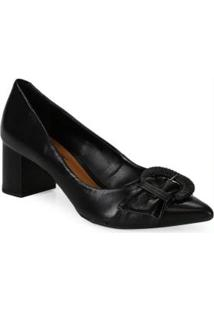 Sapato Scarpin Desmond Preto