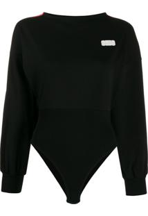 Gcds Logo Patch Bodysuit - Preto