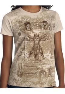 Camiseta Woltruviano - Feminina