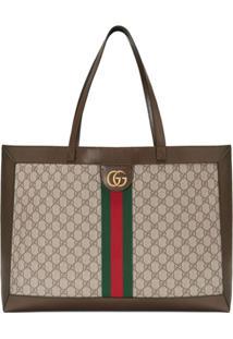 9d0fc94b6 ... Gucci Bolsa Tote Ophidia Gg - Marrom