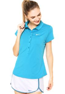 Camisa Polo Nike Advantage Azul