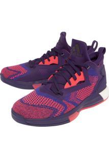 Tênis Adidas Performance D Lilard 2 Boost Primekni Roxo/Coral