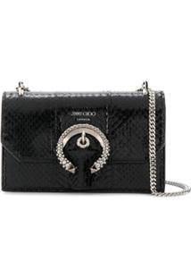 Jimmy Choo Clutch Paris - Preto