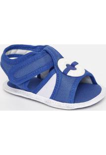 Papete Com Recortes- Azul Royal & Branca- Ticco Babytico Baby