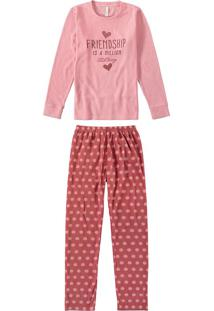 Pijama Feminino Longo Poás Malwee Liberta