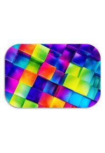 Tapete Decorativo Lar Doce Lar 3D Colors 40Cm X 60Cm Multicolorido