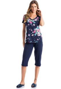 Pijama Alice Pescador Azul/Xg