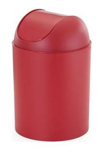 Lixeira Arthi Com Tampa Basculante 8136 Em Plástico – 5 L