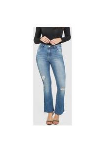 Calça Tripdenim Flare Jeans