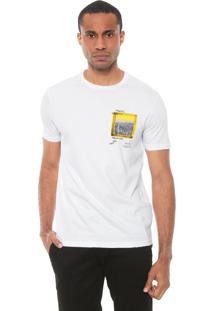 Camiseta Calvin Klein Jeans Comfort Branca