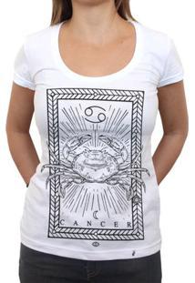 Cancer - Camiseta Clássica Feminina