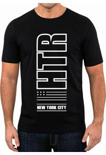 Camiseta Hunter New York City Preta
