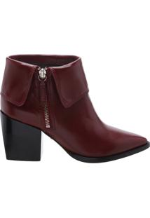 Bota Cape Salto Bloco Brown | Schutz