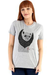 Blusa Ouroboros Pandassauro Cinza