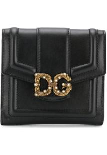 Dolce & Gabbana Carteira Compacta - Preto