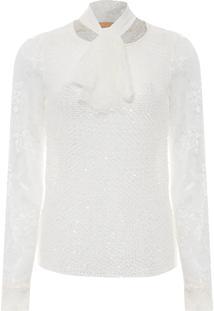 Blusa Feminina Floridian - Off White