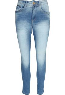 Calça Jeans Biotipo Skinny Alice Azul - Kanui