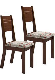 Kit 2 Cadeiras De Jantar Deca Cravo - Viero Móveis