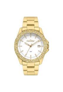 Relógio Condor Feminino Atemporal Analógico Dourado Co2115Kwkk4B