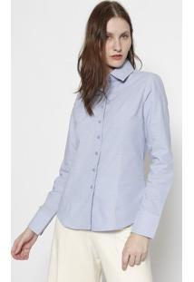 Camisa Lisa- Azul Claroclub Polo Collection