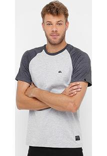 Camiseta Quiksilver Especial M/C Raglan Essential Masculina - Masculino